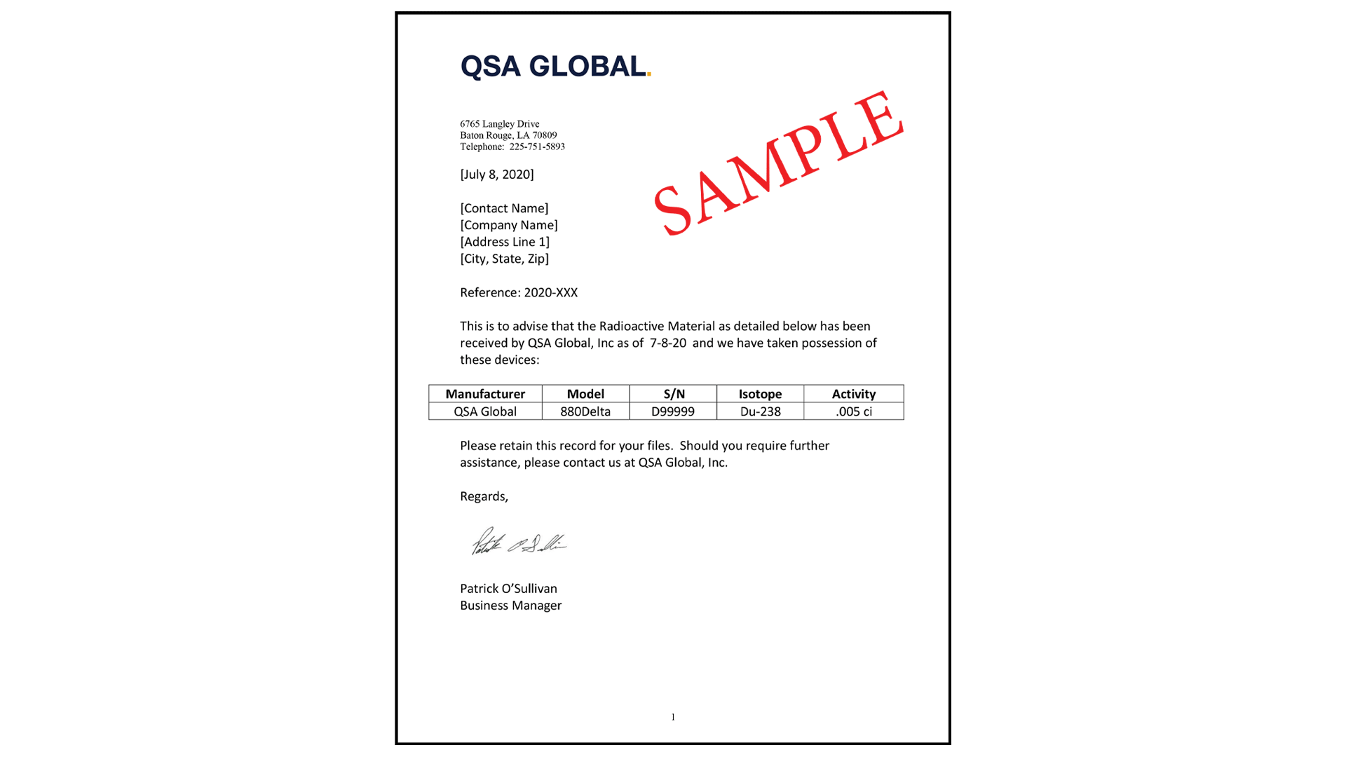 qsa-sample-ownership-letter