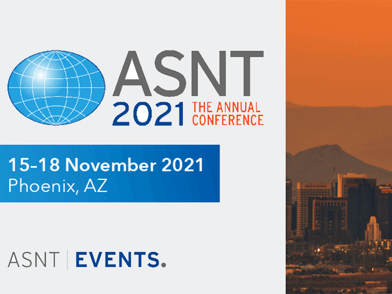 ASNT 2021: The Annual Conference Event Image