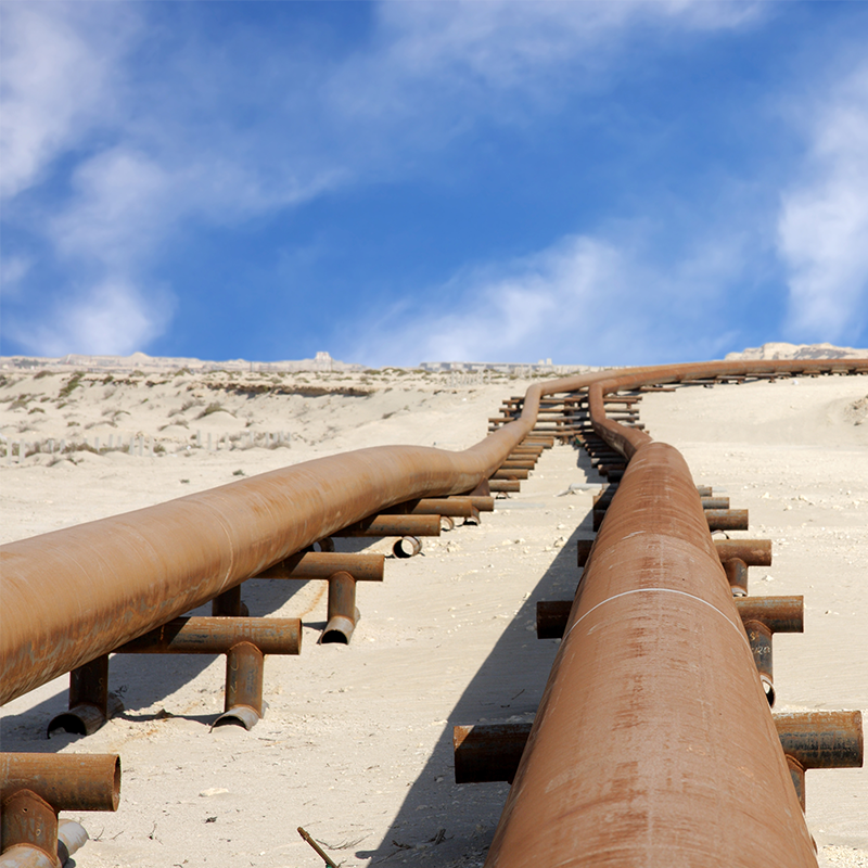 Pipelines in the dessert
