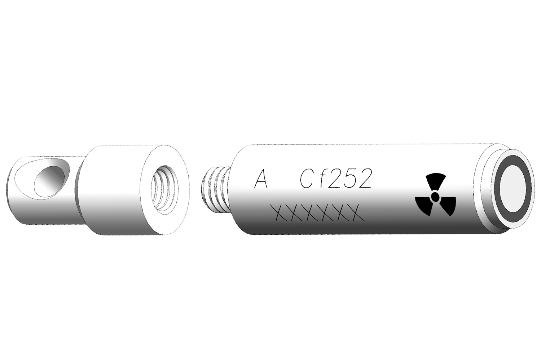 Cf-252 X224 Neutron Source with Eyelet